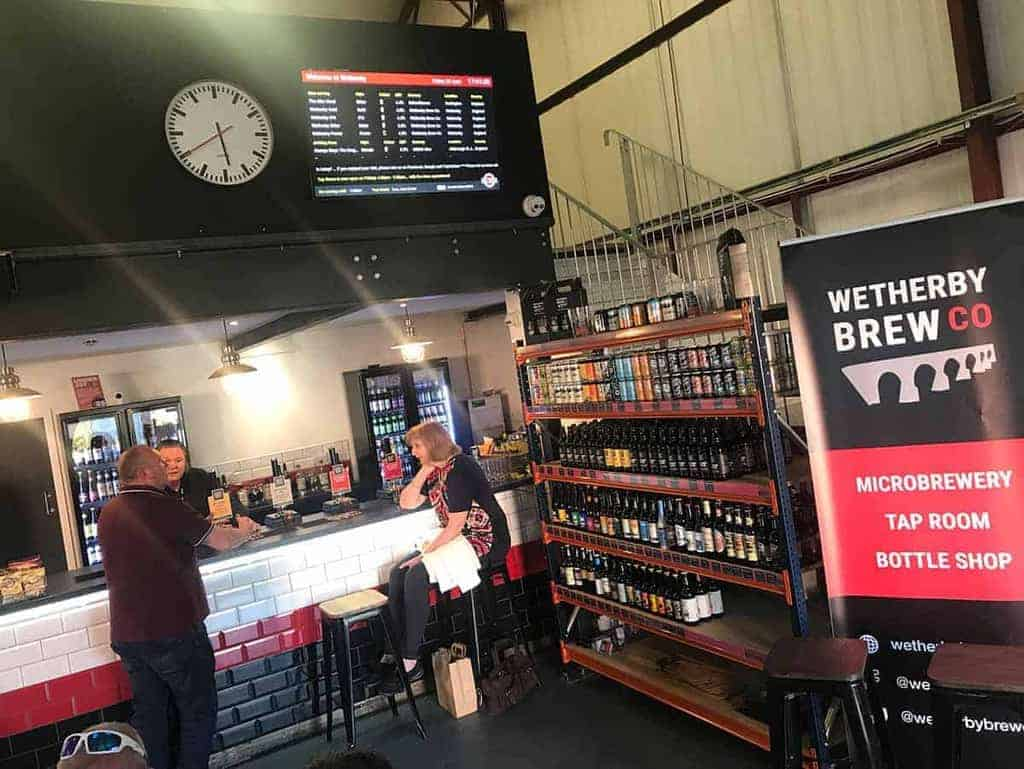 Wetherby Brew Co Tap Room Bar