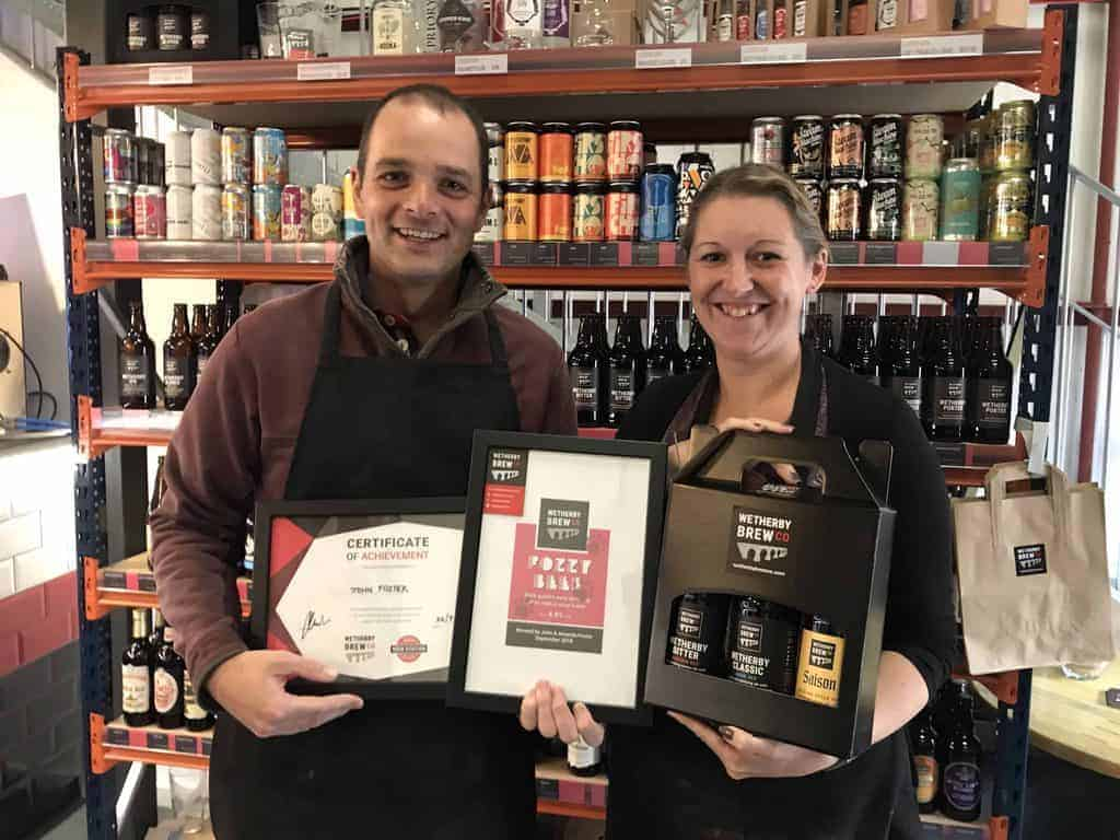 Wetherby Brewing Experience Guests