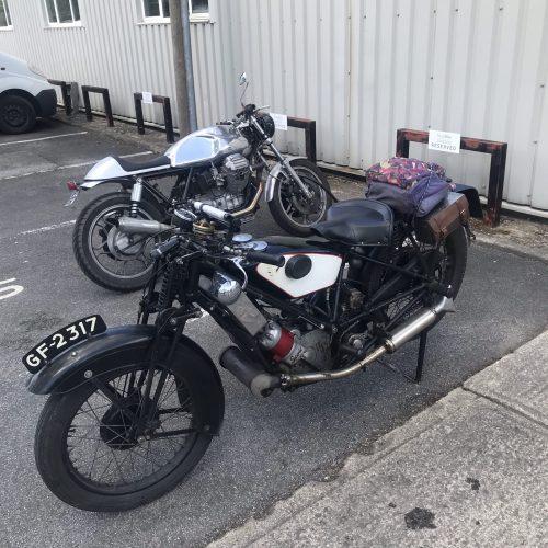 Vintage Motor Cycle Club
